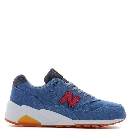 Men's New Balance x Capsule MT580CBU / Denim Running Shoes Blue Red