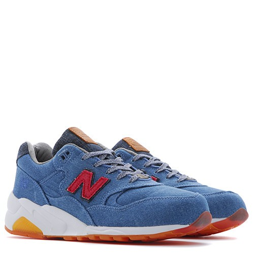New Balance x Capsule MT580CBU / Denim Trainers For Women Blue Red