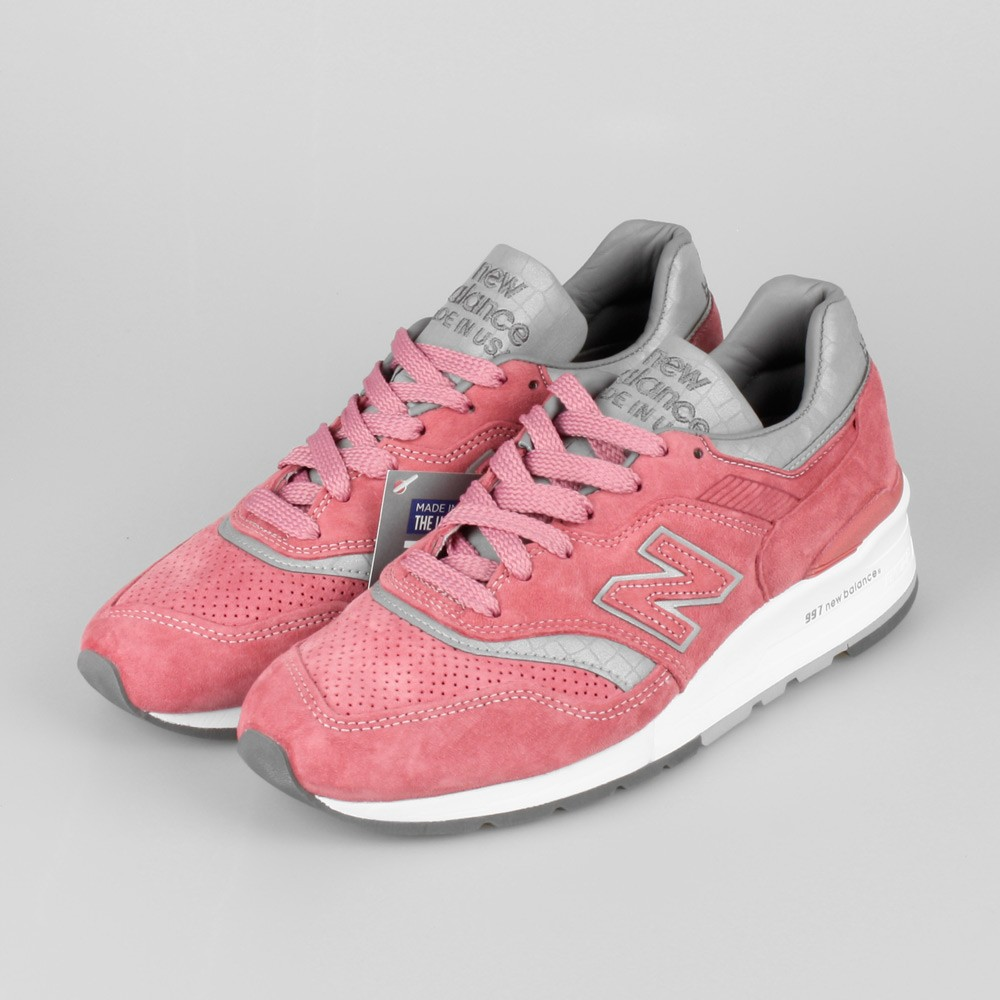New Balance Concepts x New Balance M997 Rose M997CPT Made In USA Shoes Women Rose/Silver