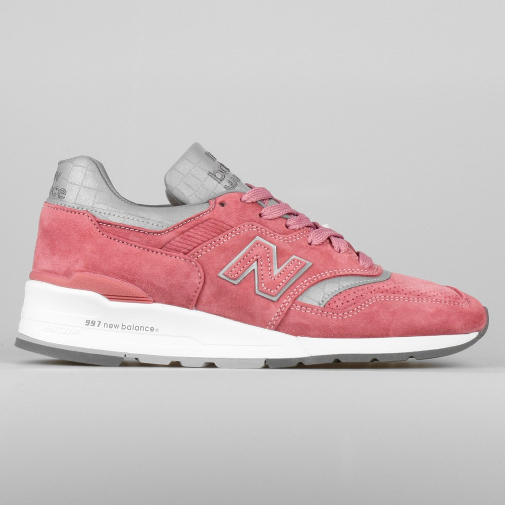 New Balance Concepts x New Balance M997 Rose M997CPT Made In USA Men Sneakers Rose/Silver