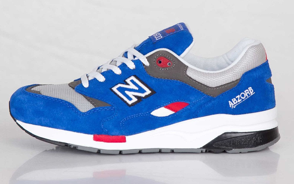 New Balance 1600 Barber Shop Elite Edition Sneakers For Men Blue Grey Red White