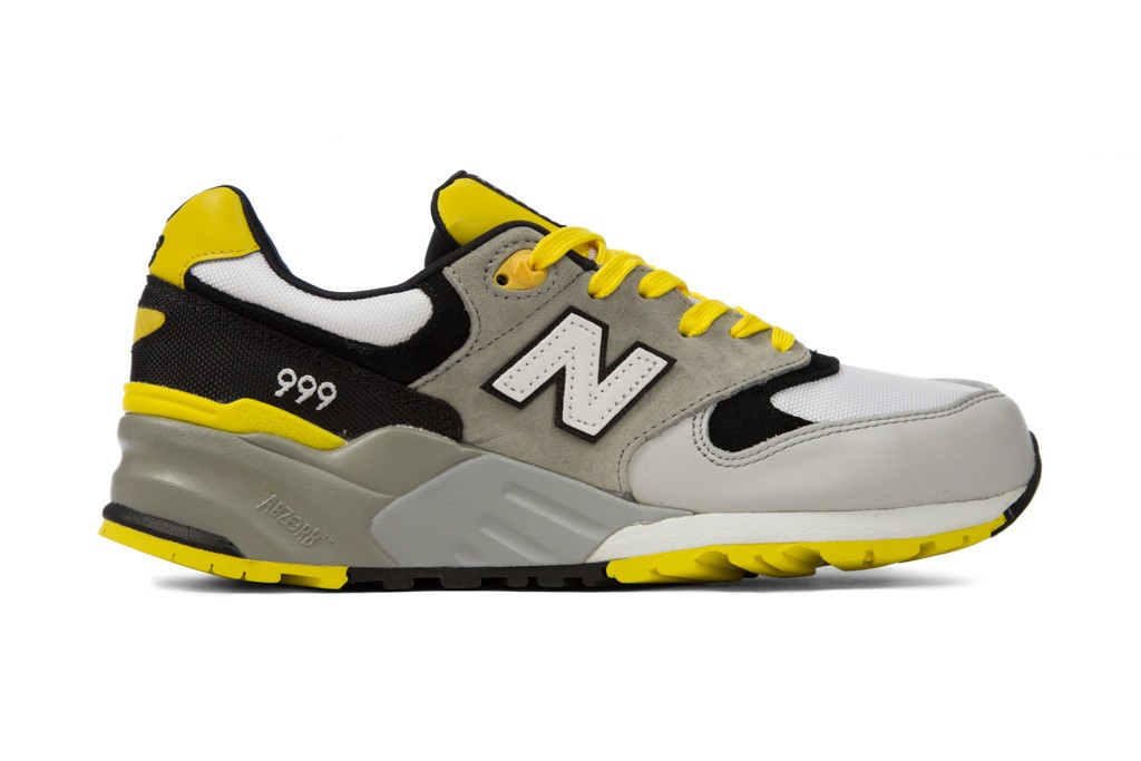 Men's New Balance 999 Mecha Elite Edition ML999WSB Walking Shoes Grey Yellow White Black