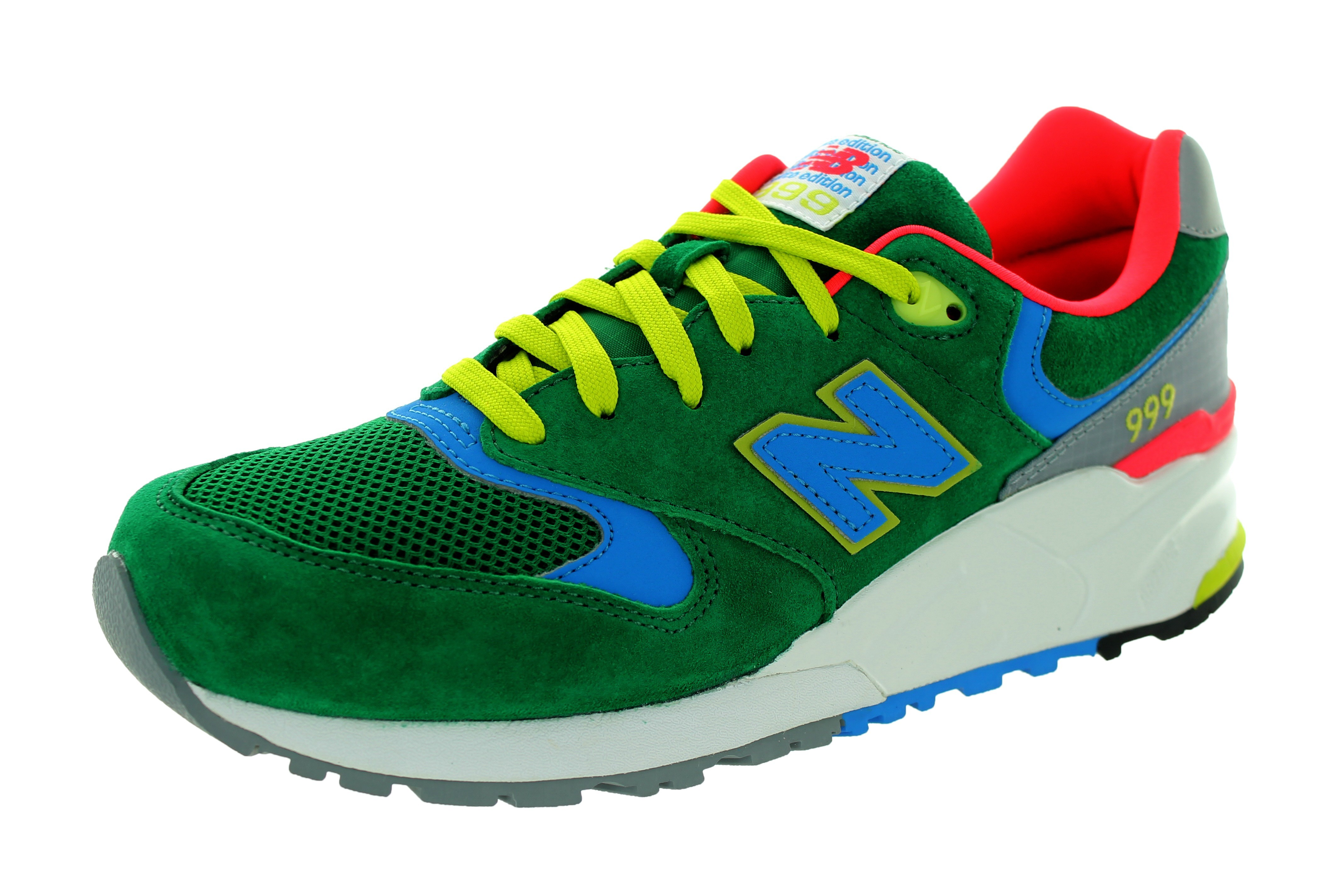 New Balance 999 ML999PN Pinball Mens Shoes Green Coral Orange Pink Blue Lime Green Grey Off White