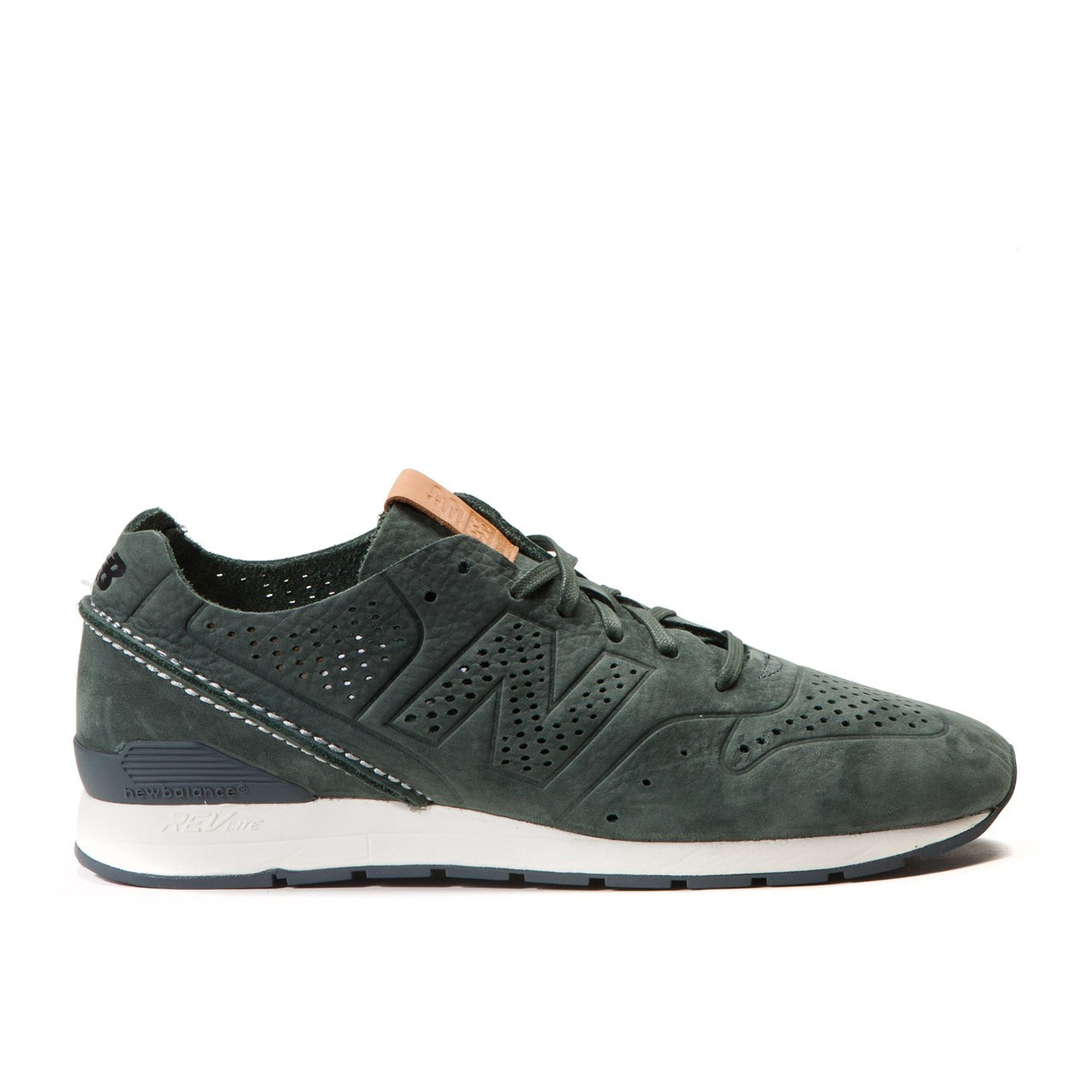 Men New Balance 996 Decon Dark Moss Reengineered MRL996DM Deconstructed Pack Runner Trainers Moss Green 450701-60-8