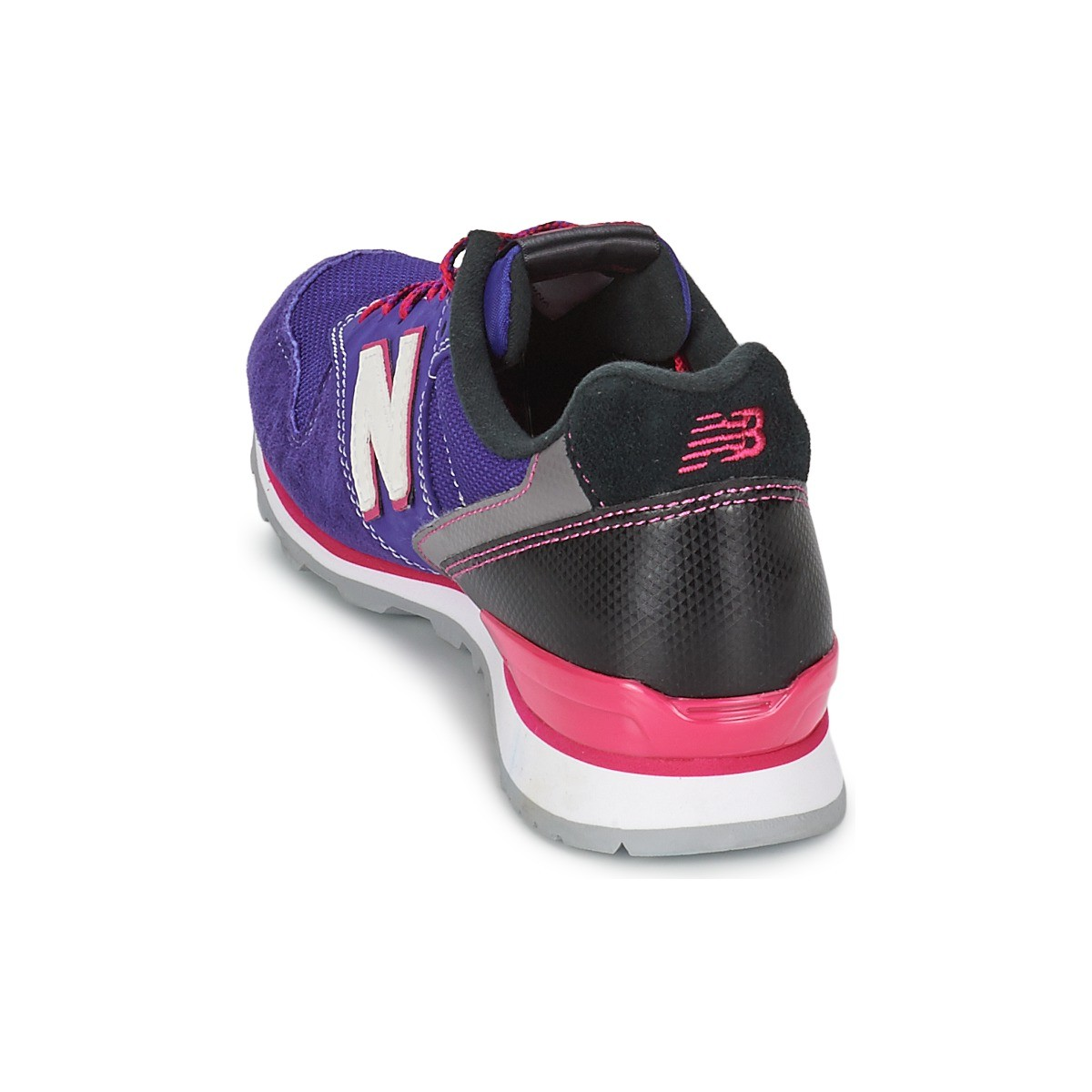 New Balance WR996 Shoes Womens Purple Rose Pink Black Grey White