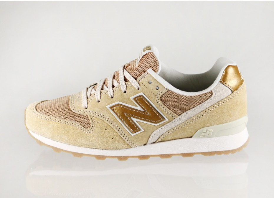 New Balance WR 996 DKE (KELP) Running Sneakers Womens Gold Gum Brown Outsole Sole Suede/Mesh/Leather 389302-50-9