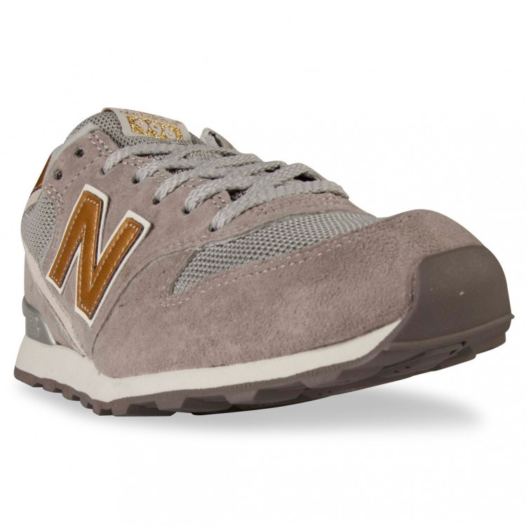 New Balance 996 Womens Shoes Grey Gold Dgr