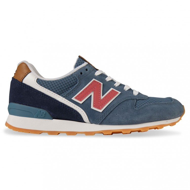 New Balance 996 Trainers Womens Navy Red Tcp Chalk Gum Brown