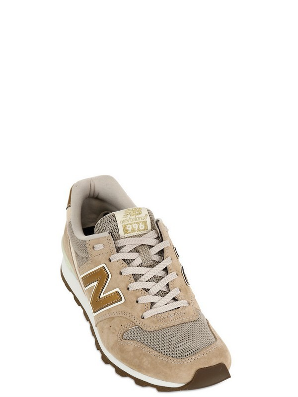 New Balance 996 Shoes Unisex Beige Gold