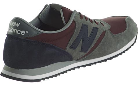 New Balance U420 Shoes For Running Unisex Burgundy Gray Anthracite