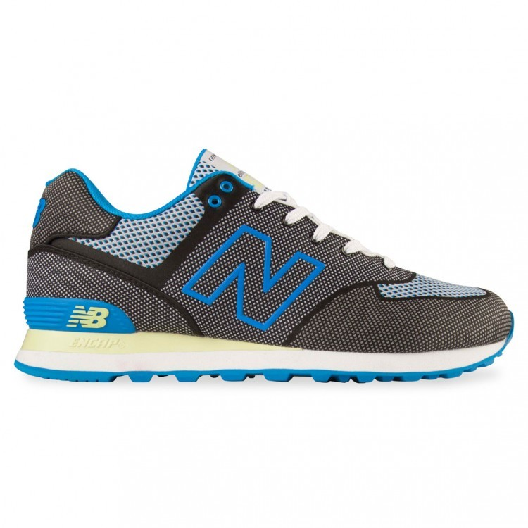 Unisex New Balance 574 Sonic Athletic Shoe Grey/Blue