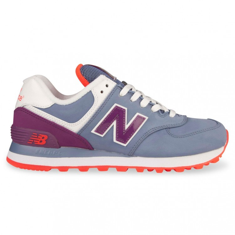 Womens New Balance 574 Shoes For Running Purple/Plum Slx