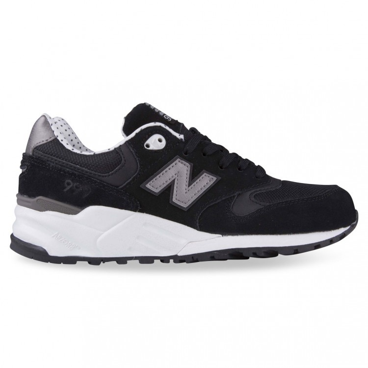 Womens New Balance 999 Polka Dot Elite Edition WL999AC Shadows Trainers Black/Grey White