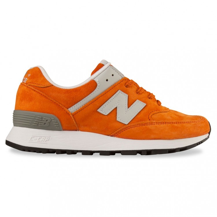 Womens New Balance 576 Made In UK England Shoes Orange/Light Grey Pog