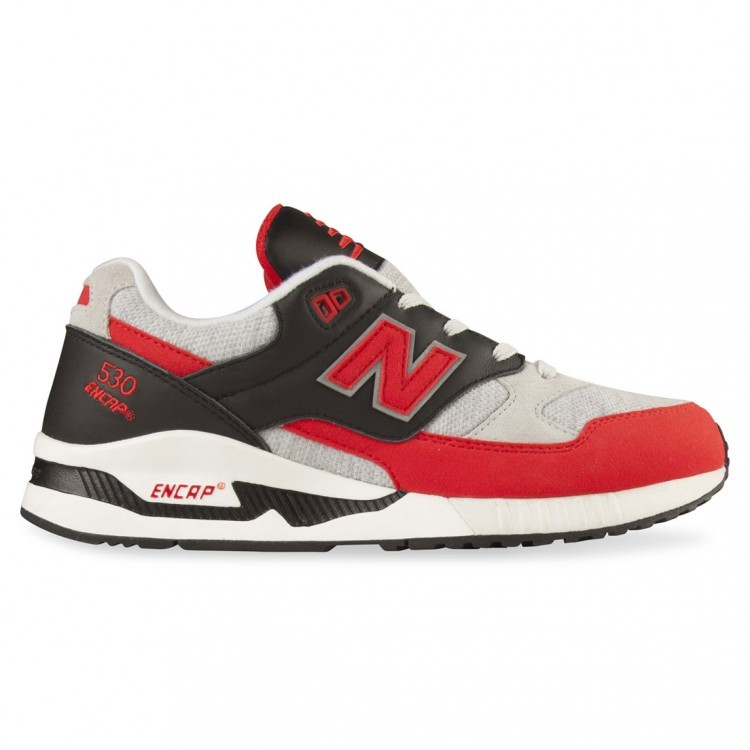 New Balance 530 Jersey Men Shoes Red/Black Vrb