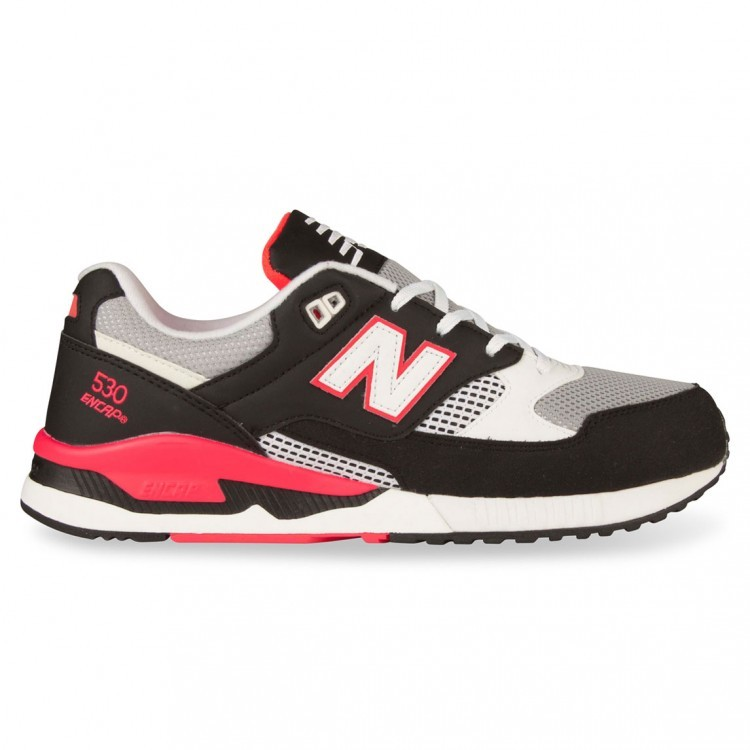 Mens New Balance 530 Sneakers Blackgrey/Pink Bgm