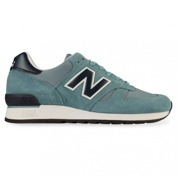 New Balance 670 Made In UK Pack Trainers Men Teal/Navy Smb