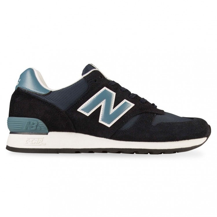 Mens New Balance 670 Made In UK Running Shoes Navy/Teal White Smn