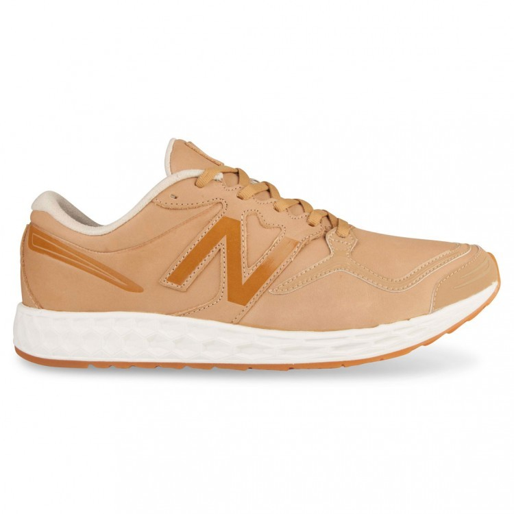 New Balance Zante Premium Mens Running Shoes Sand/White Al