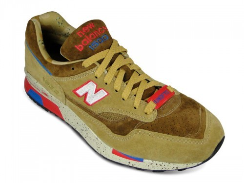 Undefeated x New Balance x CM1500 UD Desert Storm UNDFTD Men Running Shoes Camel Red White Blue