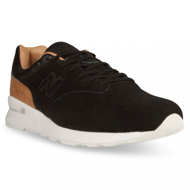 Mens New Balance 1500 Reengineered Deconstructed Sneakers Black/Brown/White Dg