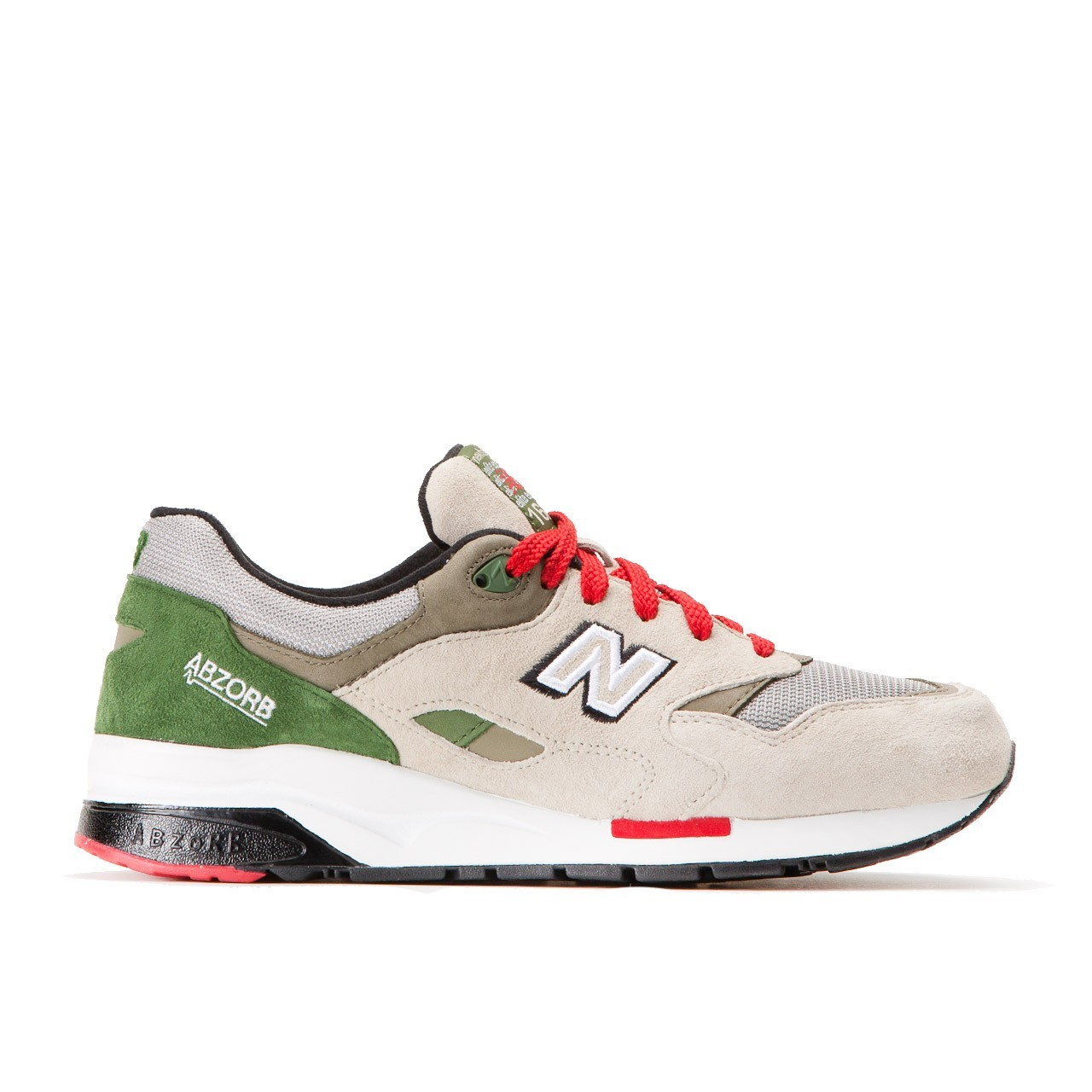 sports shoes b5ea3 abaaa Outlet Sale Men's New Balance CM 1600 GR Shoes Grey / Green ...