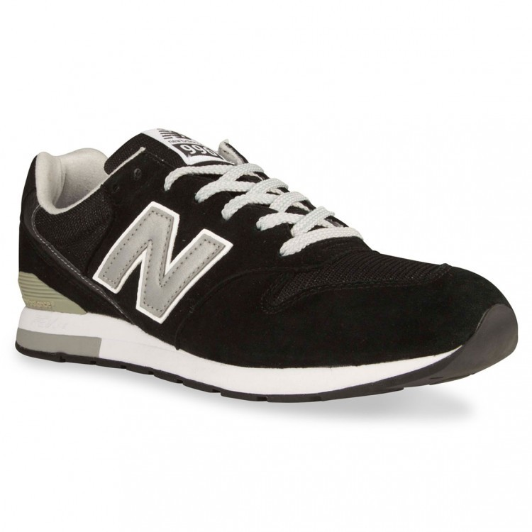 New Balance RevLite 996 Runner Trainers Womens Black/Silver Bl