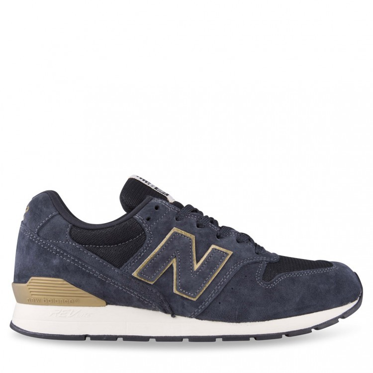 Womens New Balance RevLite 996 Running Sneakers Navy/Gold Hb