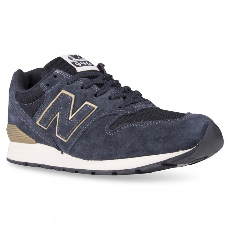 Unisex New Balance RevLite 996 Running Sneakers Navy/Gold Hb