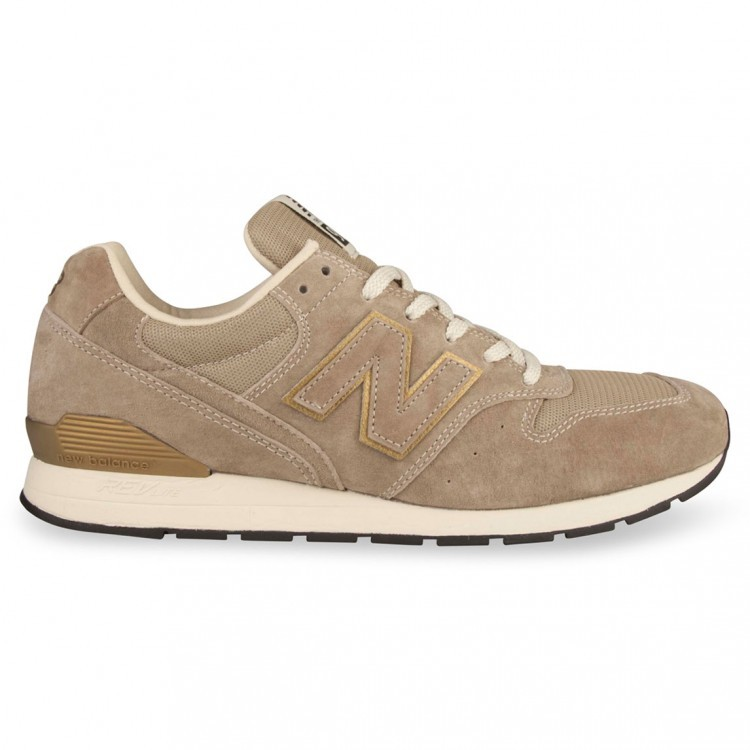 New Balance RevLite 996 Mens Running Sneakers Beige/Gold Hf