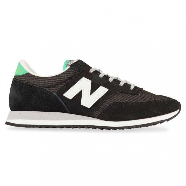 Women New Balance 620 Running Sneaker Black/White/Mint Ckm