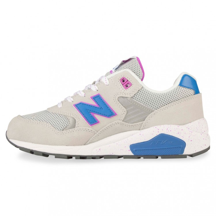 Womens New Balance RevLite 580 Elite Edition Shoes Grey/Blue/Purple Xb