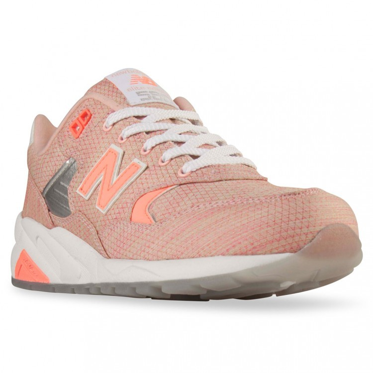 New Balance RevLite 580 Elite Edition Sneakers For Women Coral/White Silver Ik