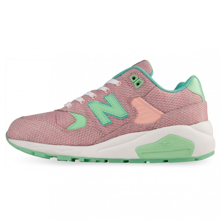 New Balance RevLite 580 Elite Edition Womens Trainers Pink/Aqua Sa