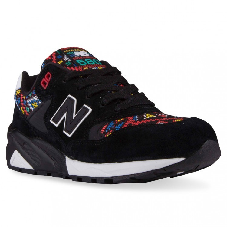 Womens New Balance RevLite 580 Elite Edition Considered Chaos Running Sneaker Black/Multicolor Ha