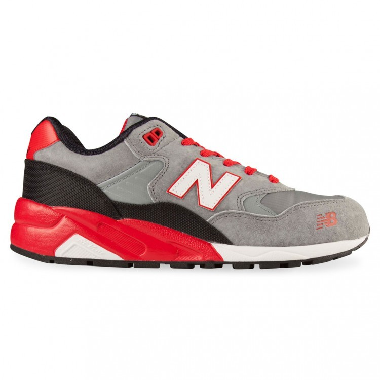 New Balance RevLite 580 Elite Edition Mecha Mens Sneakers Grey/Red/Black Sr