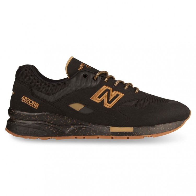 New Balance 1600 Mens Sneakers Black/Gold Ag
