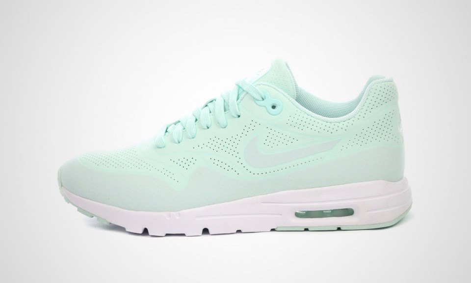 "Nike Air Max 1 Ultra Moire ""Fiberglass"" Shoes for Men Mint Green 704995-300"