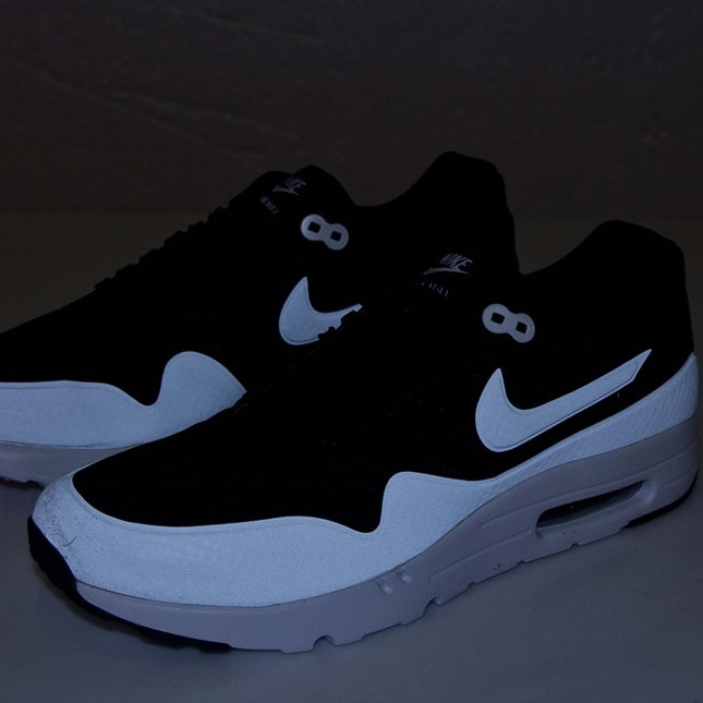 Nike Air Max 1 NM Ultra Moire Oreo 3M Reflective Mens Shoe Black/White 705297-001