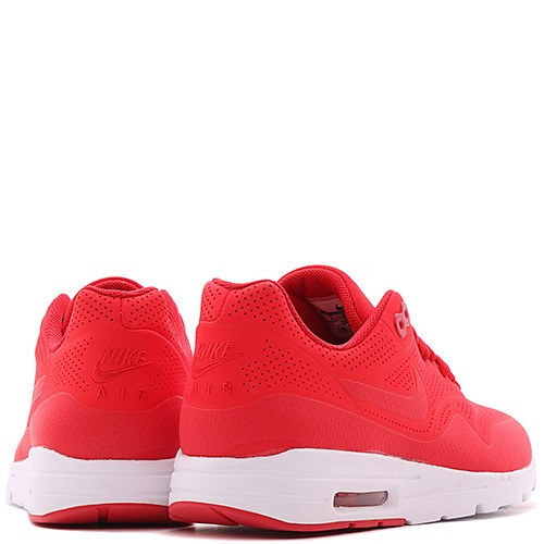 Nike Air Max 1 Ultra Moire Running Shoes for Women University Red White 704995-600