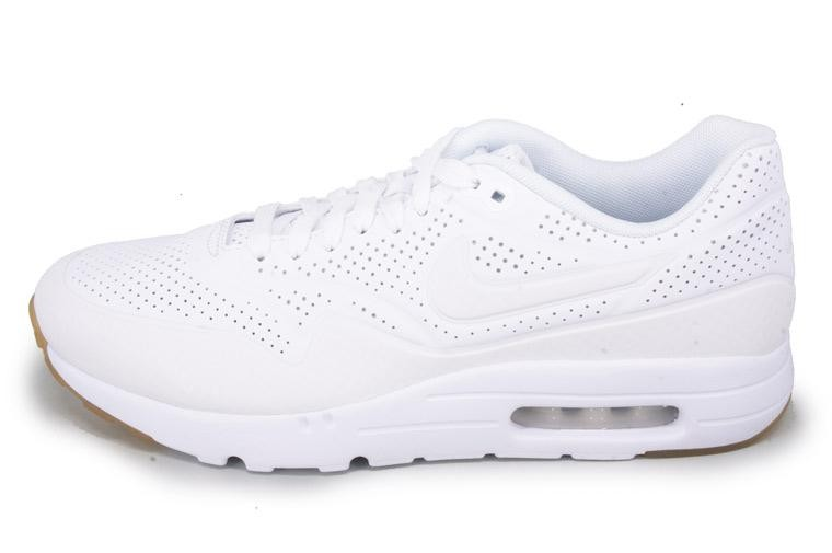the best attitude 7ecab 8d780 Nike Air Max 1 Ultra Moire All White Womens Shoes White White 705297-111