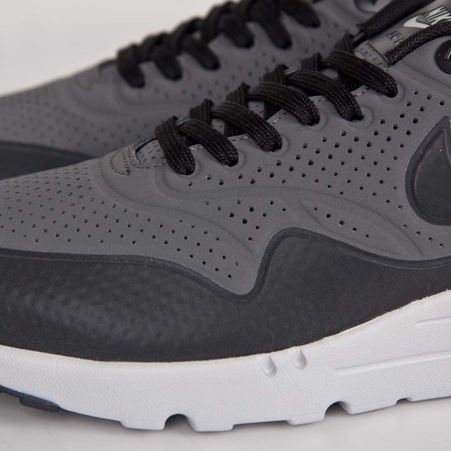 Nike Air Max 1 Ultra Moire Mens Shoe Dark Grey/White 705297-003