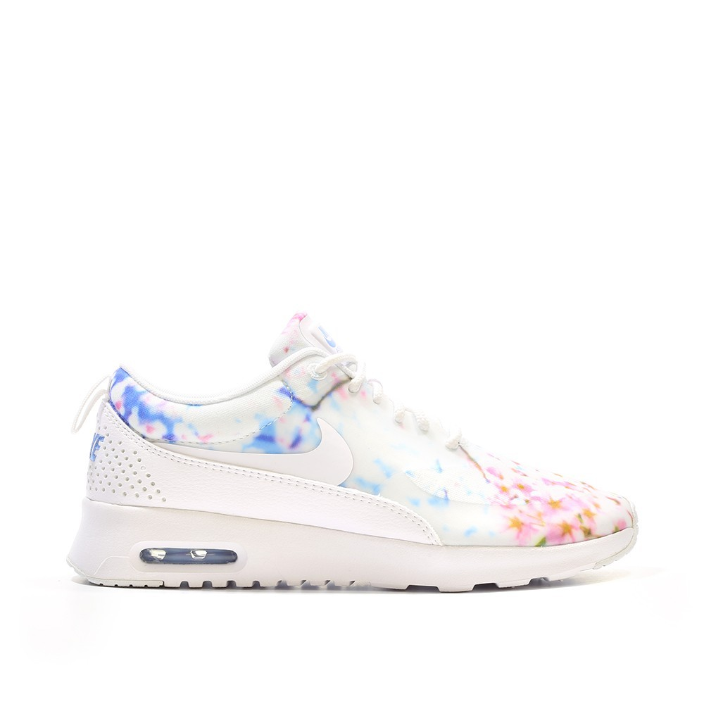 Nike Wmns Air Max Thea Print Cherry Blossom Pack White/University Blue/White 599408102