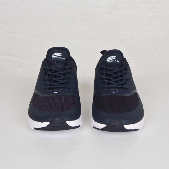 Women's Nike Air Max Thea Running Shoes Obsidian/White 599409 409