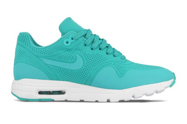 Nike Air Max 1 Ultra Moire Dark Turquoise White (Light LT Retro) Womens Shoes