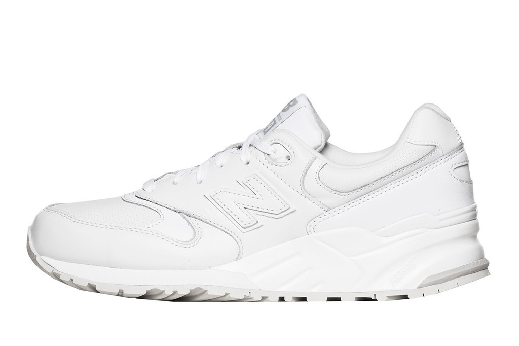 Outlet Sale New Balance 999 White Out Instinct Leather Mens